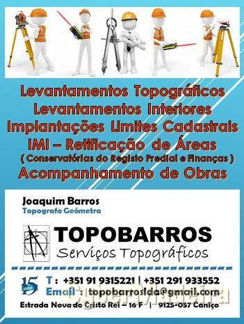 Topobarros - Servicos Topograficos Lda