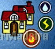 Canalizações, electricidade, gás E painéis solares