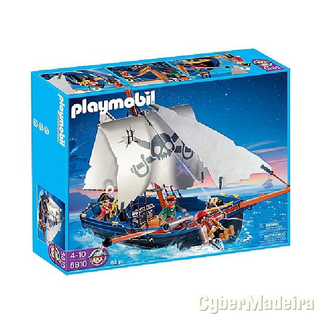 Barco Corsário Playmobil