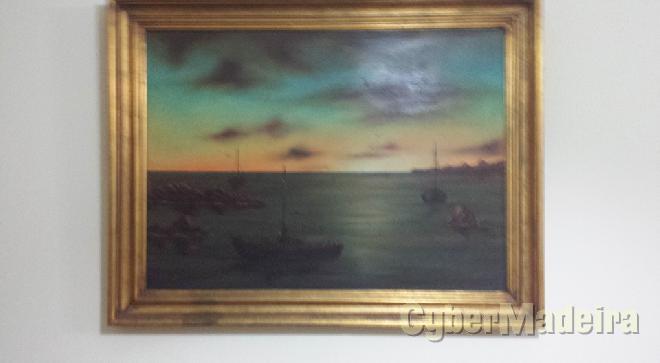 Quadro em pintura A óleo