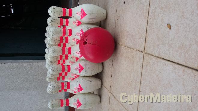 Jogo profissional de bowling