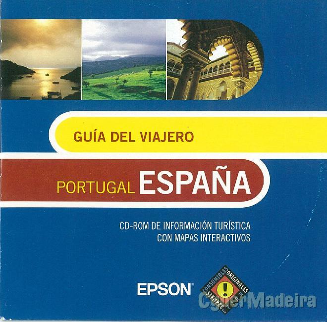 Cd-rom guía del viajero - portugal y españa