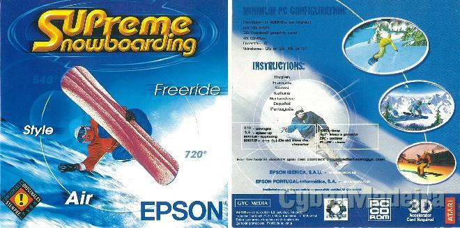 Jogo para pc supreme snowboarding