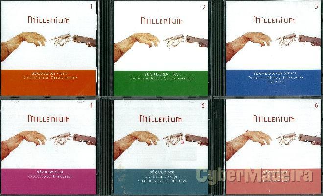 Enciclopédia em cd-rom millenium