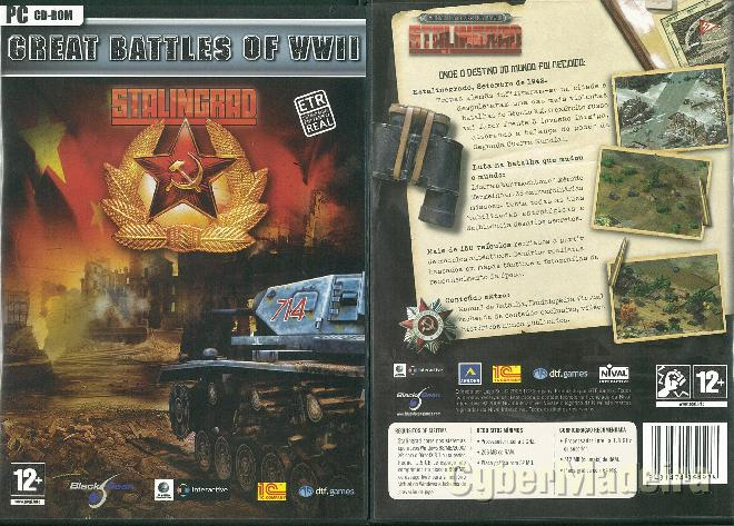 Jogo para pc great battles of wwii - stalingrad