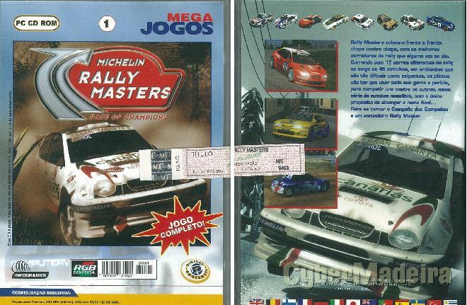 Jogo para pc michelin rally masters