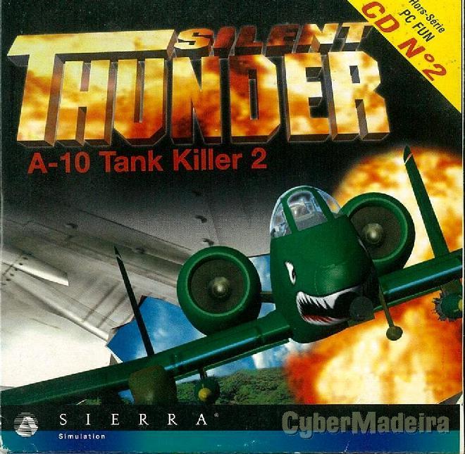 Jogo para pc silent thunder - A-10 tank killer 2