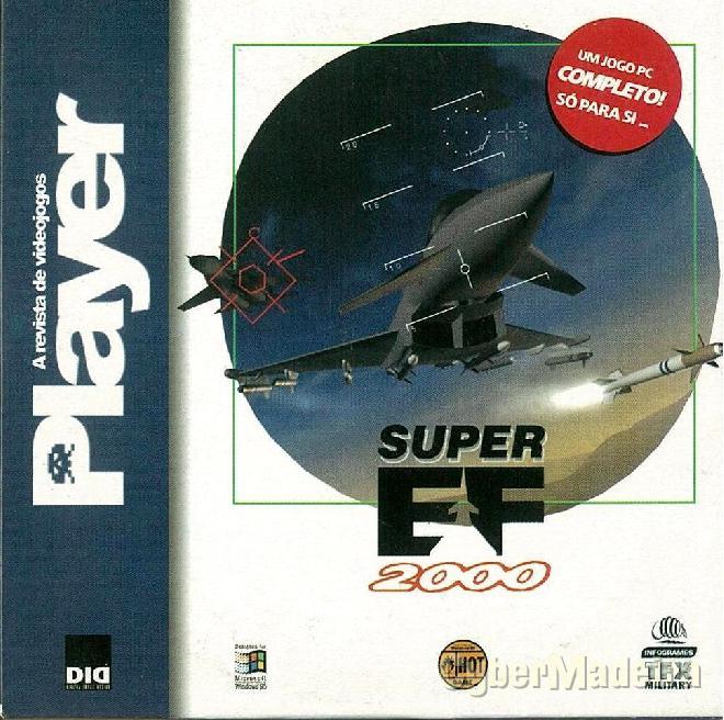 Jogo para pc super eurofighter 2000