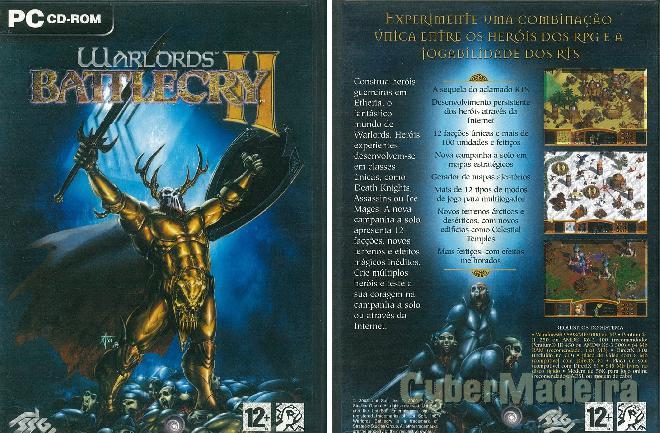 Jogo para pc warlords battlecry ii