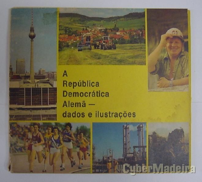 A república democrática alemã - dados E ilustrações