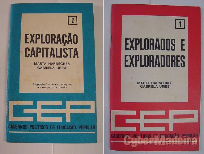 Exploração capitalista + exploradores E explorados