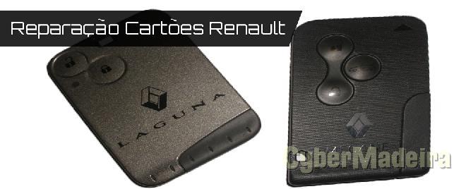 Reparação de cartao Renault