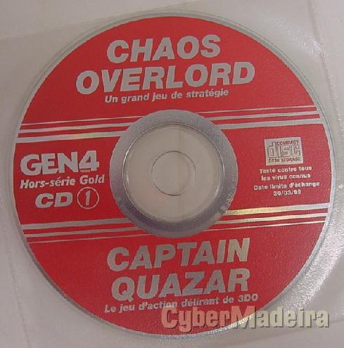 Jogo para pc chaos overlord + captain quazar