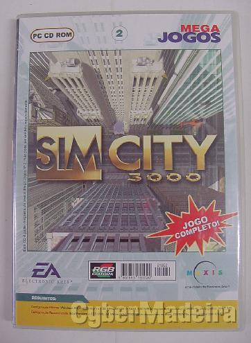Jogo para pc sim city 3000