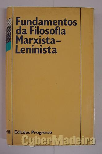 Fundamentos da filosofia marxista-leninista