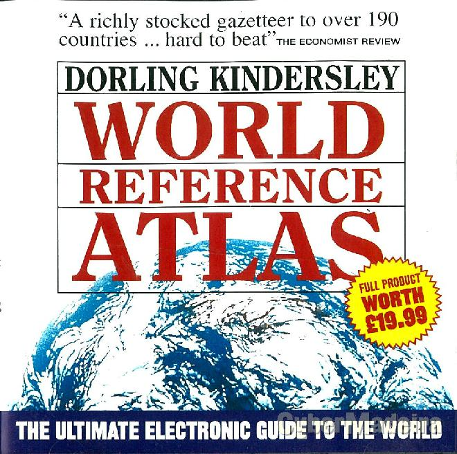 Cd-rom interactivo world reference atlas