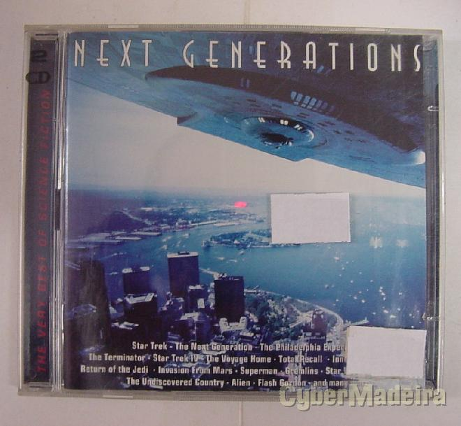 Cd duplo next generations - the very best of scifi