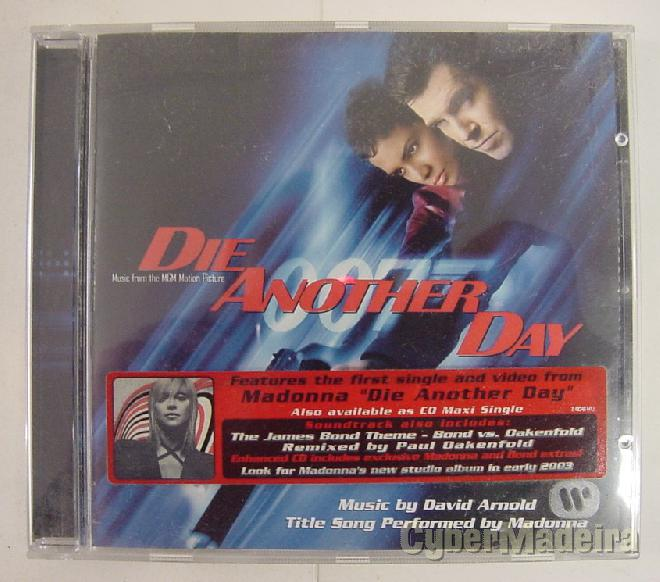 Cd ost 007, die another day