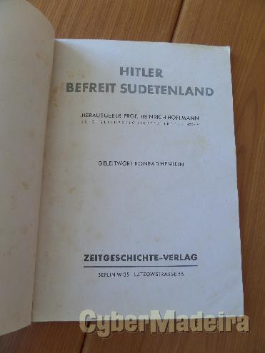 Hitler befreit sudetenland - álbum fotográfico de propaganda nazi  1938