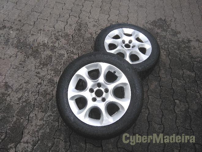 """Jantes furaçao 5 110  5 11216"""" sem pneus"""