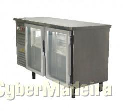 Fagor Bancada refrigerada portas de vidro 1.5M  com um més de uso