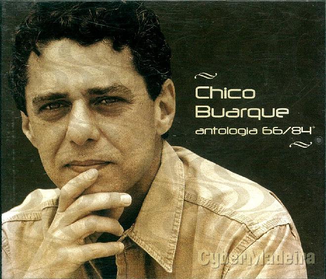 Cd duplo chico buarque - antologia 66-84