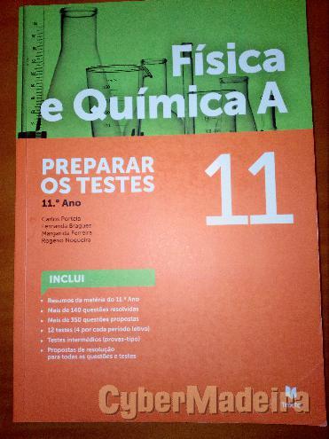 Preparar os testes física E química A11º Físico-química