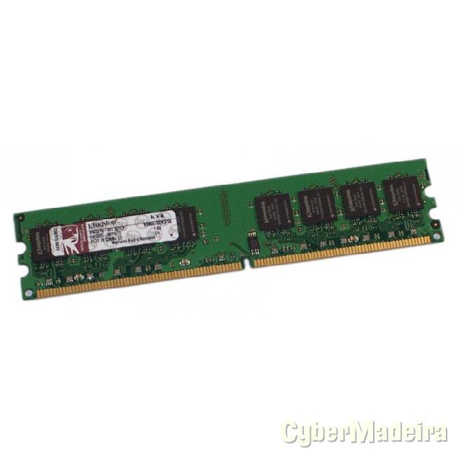 Memória dimm kingston 1GB DDR2 667MHZ