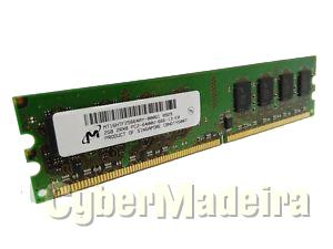 Memória dimm micron 2GB DDR2 800MHZ