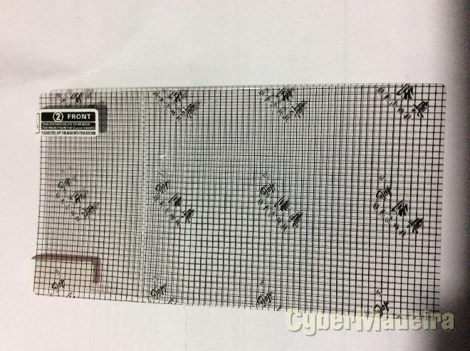 Película proteção vodafone smart grand 6