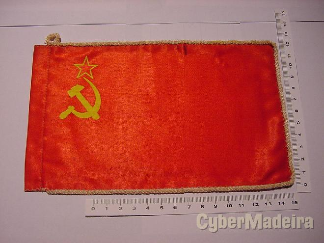 Bandeira pequena da urss