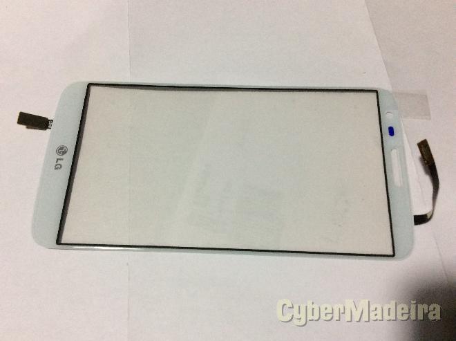 Vidro tátil   touch lg G2 D802 branco