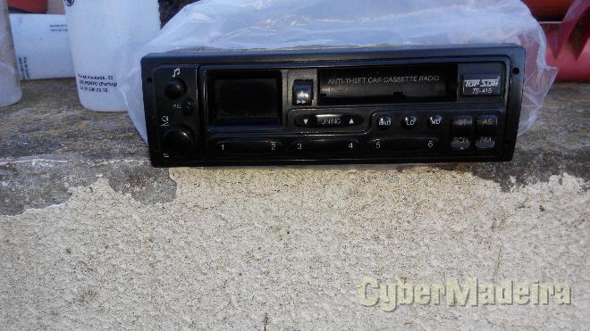 Auto radio cassetes E radio