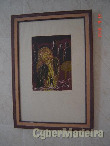 Serigrafia - prova de artista