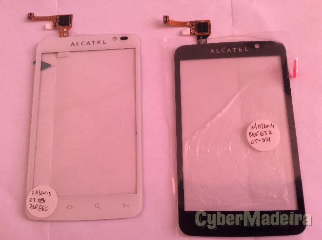 Vidro tátil   touch tmn smart A8 - Alcatel O E touch OT-991