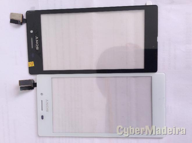 Vidro tátil   touch Sony xperia M2 aqua D2403 , D2406