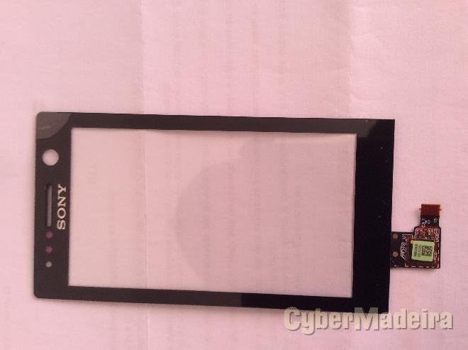 Vidro tátil   touch Sony xperia U , ST25 , ST25I