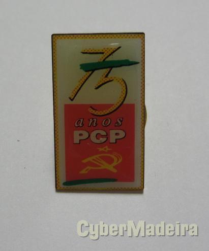 Pin do pcp - 75 anos