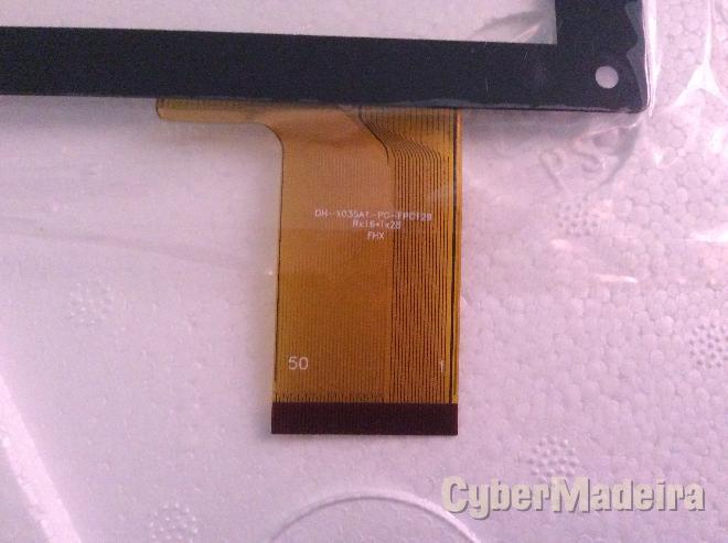 Vidro tátil   touch DH-1035A1-PG-FPC129Outras
