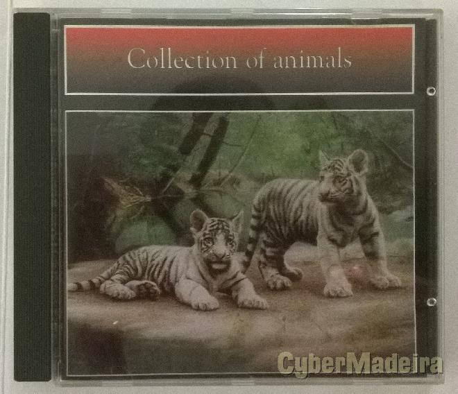 Cd-rom collection of animals