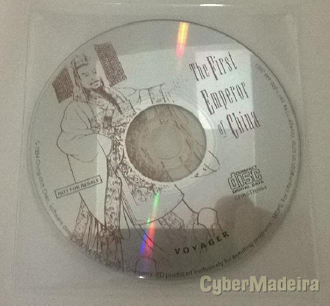 Cd-rom the first emperor of china