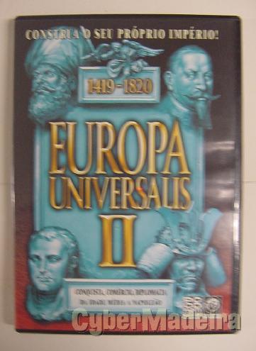 Jogo para pc europa universalis ii - 1419-1820