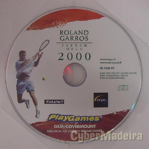 Jogo para pc roland garros french open 2000
