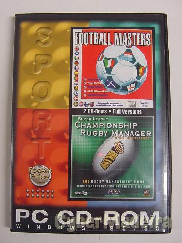 Pack de dois jogos de gestão desportiva para pc