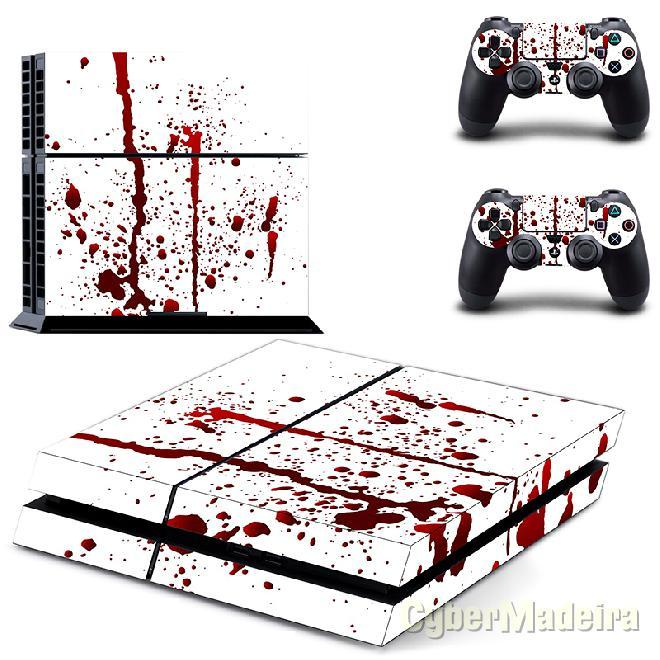 Skin PS4 sangue