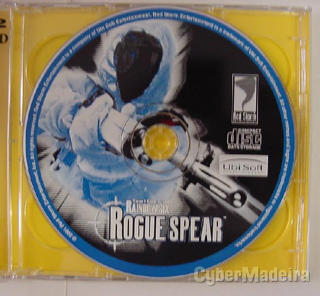 Jogo para pc tom clancy\'s rainbow six: rogue spear