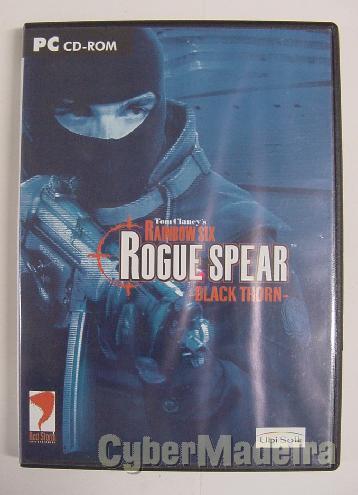 Jogo para pc tom clancy's rainbow six: rogue spear - black thorn