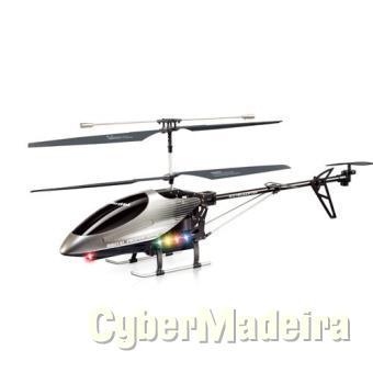 Helicóptero 3 canais   lcd+câmara