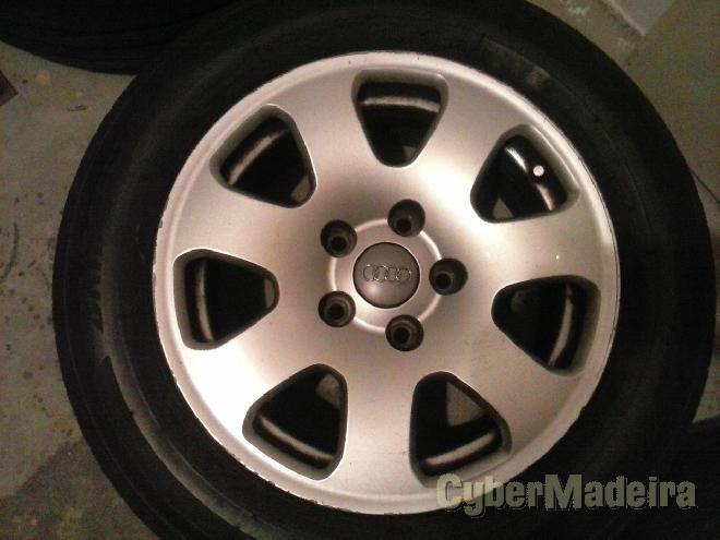 """Jantes Audi  E pneus15"""" com pneus"""