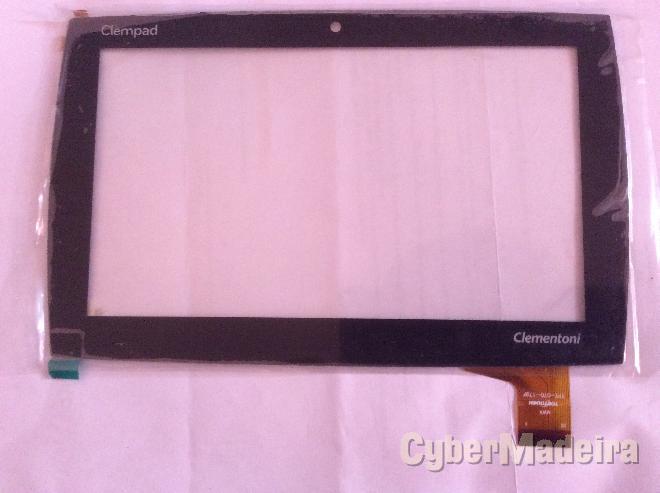 Vidro tátil   touch screen clementoni clempad 7Outras